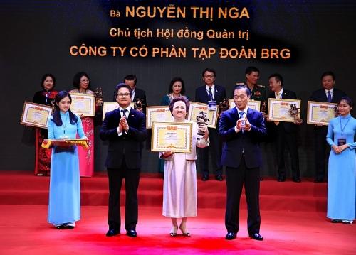 Chủ tịch tập đoàn BRG, doanh nhân Nguyễn Thị Nga được vinh danh