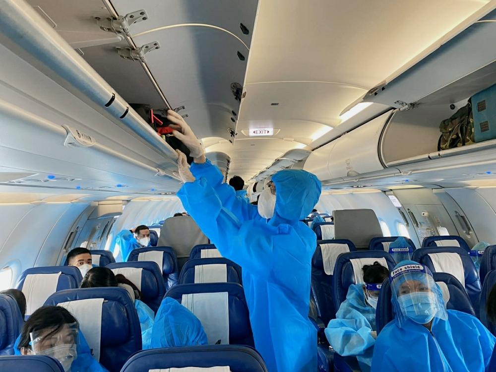 Toàn bộ quá trình khai thác các chuyến bay tuân thủ chặt chẽ nguyên tắc 5K cũng như các quy định, yêu cầu của cơ quan chức năng