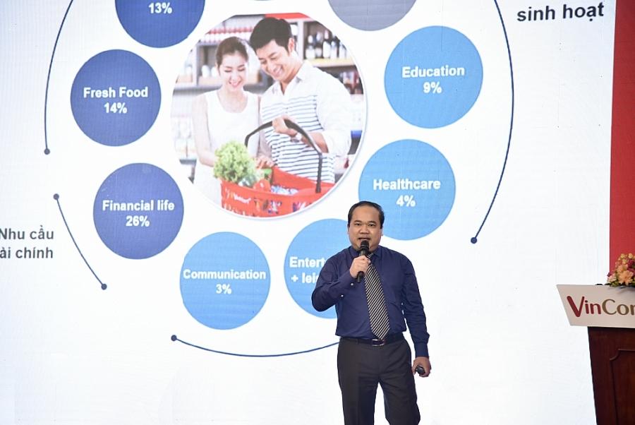 Ông Trương Công Thắng - TGĐ VinCommerce chia sẻ tại Hội nghị