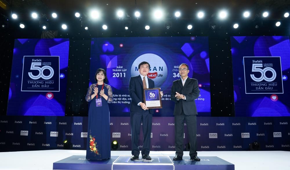 Masan Consumer và Masan MEATLife được vinh danh trong Top thương hiệu dẫn đầu năm 2020