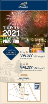 Thủy Tạ: Điểm lý tưởng và lãng mạn nhất để ngắm pháo hoa chào năm mới 2021