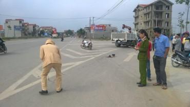 Nữ công nhân thiệt mạng dưới bánh ô tô tải