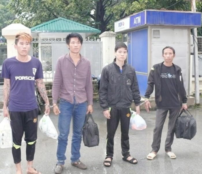 Thanh Hóa: Bắt giữ 4 đối tượng truy nã nguy hiểm