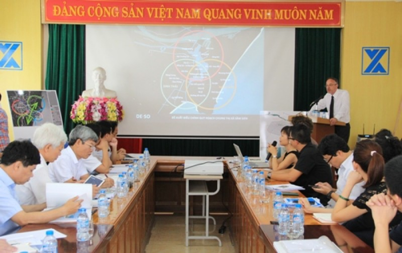 Thi tuyển phương án quy hoạch không gian du lịch biển Sầm Sơn