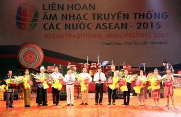 Khai mạc Liên hoan Âm nhạc truyền thống các nước ASEAN 2015