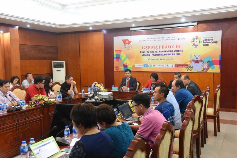 Tối mai (9/8) Đoàn thể thao Việt Nam sẽ xuất quân tham dự ASIAD 18