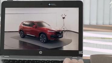 Ôtô Vinfast hé lộ hình ảnh nội thất của mẫu xe sắp ra mắt?