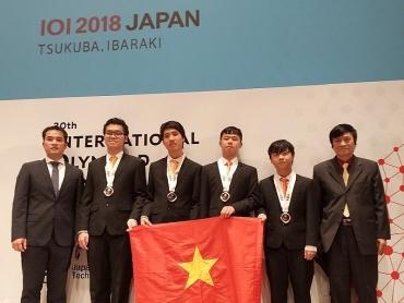 Học sinh Việt Nam giành Huy chương tại Olympic Tin học quốc tế