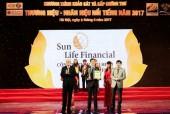 Sun Life Việt Nam lọt top 10 thương hiệu nổi tiếng
