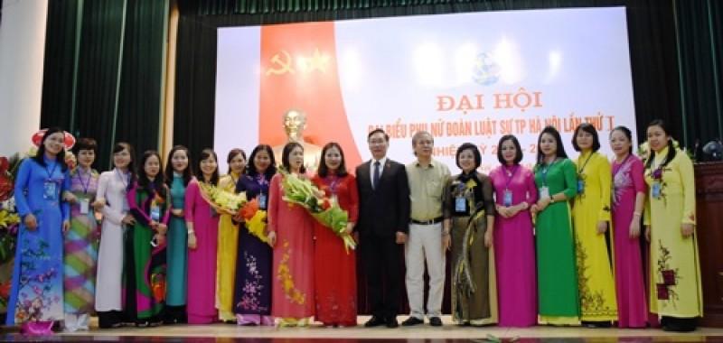 Hội phụ nữ luật sư TP Hà Nội có nhân sự mới