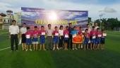 Bế mạc giải bóng đá thiếu niên nhi đồng hè năm 2017 huyện Thanh Trì