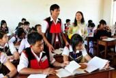 Cấp học bổng cho HS, SV dân tộc thiểu số diện hộ nghèo