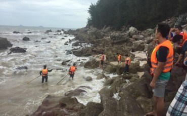 Thanh Hóa: Một người chết, một người mất tích khi tắm biển