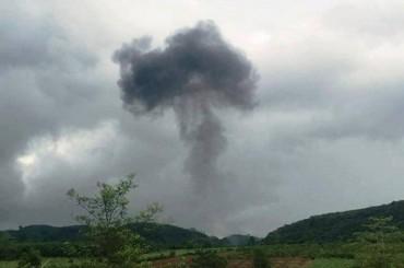 Hộp đen của máy bay Su -22U rơi ở Nghệ An đã được tìm thấy