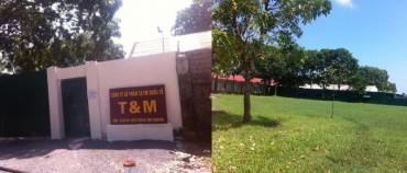 """Thanh Hóa: Xưởng sản xuất của công ty """"mọc"""" trong khuôn viên trường học"""