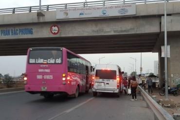 Mất an toàn giao thông trên tuyến cao tốc Hà Nội – Bắc Giang