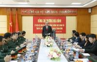 Phó Thủ tướng Trương Hoà Bình thăm, chúc Tết các cơ quan tư pháp Bộ Quốc phòng