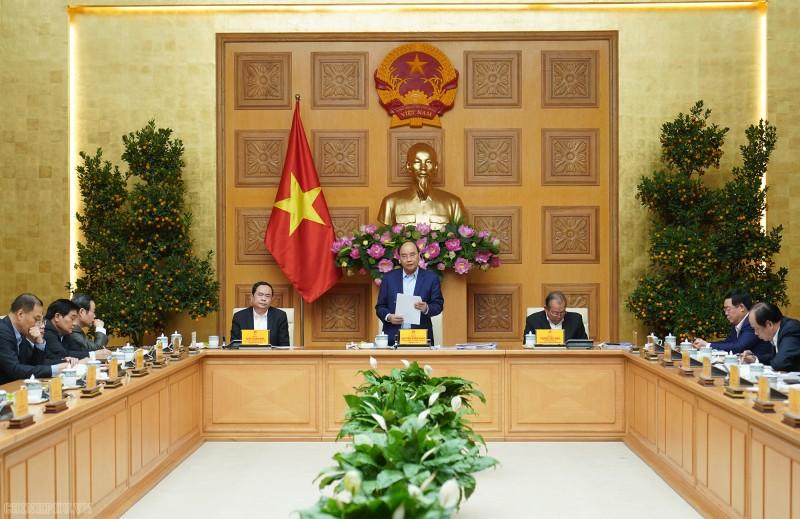 Thủ tướng chủ trì phiên họp Tiểu ban Kinh tế - Xã hội