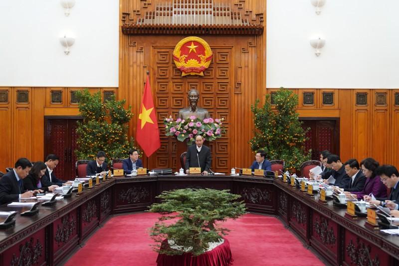 Thủ tướng chủ trì cuộc họp thường trực Chính phủ về công tác chuẩn bị Tết Nguyên đán