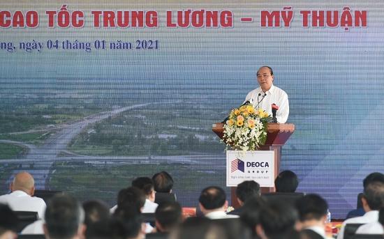 Thủ tướng dự lễ khởi công cao tốc Mỹ Thuận – Cần Thơ
