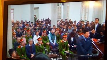 Hà Văn Thắm cùng 47 bị cáo hầu tòa