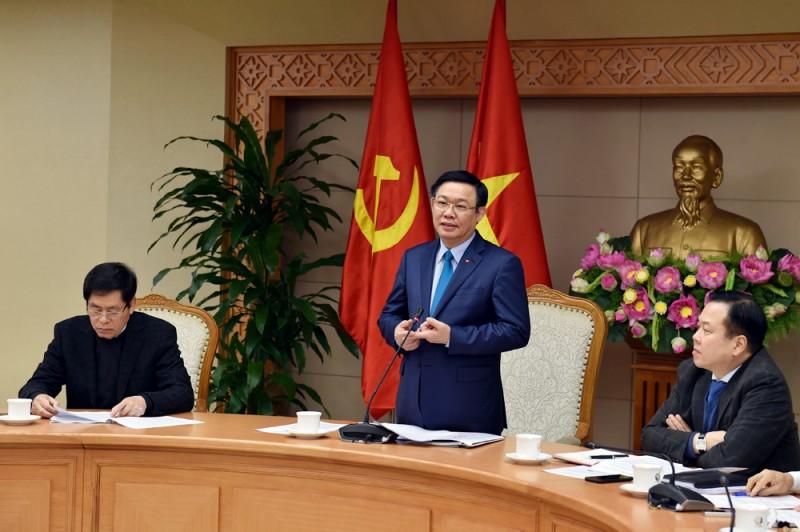 Phó Thủ tướng Vương Đình Huệ chủ trì cuộc họp Ban Chỉ đạo đổi mới và phát triển doanh nghiệp