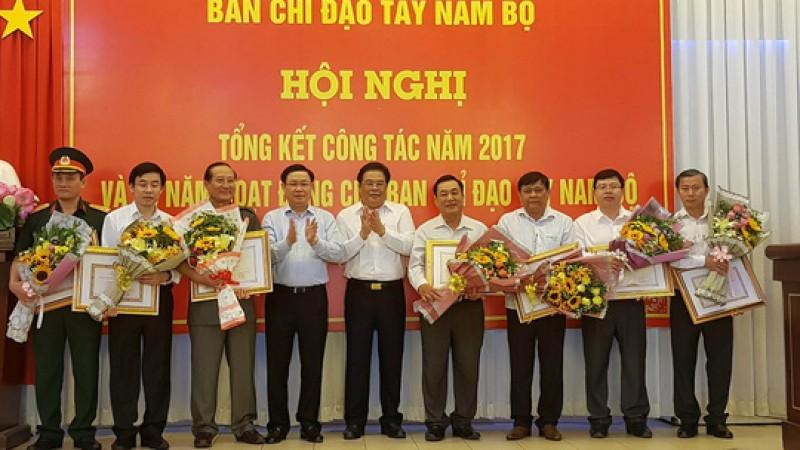 Phó Thủ tướng Vương Đình Huệ dự tổng kết 15 năm hoạt động Ban chỉ đạo Tây Nam Bộ