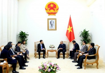 Thủ tướng tiếp Đại sứ Trung Quốc