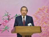 Phó Thủ tướng Trương Hòa Bình gặp mặt cán bộ, công chức, viên chức VPCP đầu Xuân
