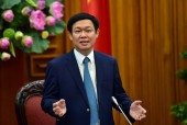 Phó Thủ tướng Vương Đình Huệ dâng hoa, tưởng nhớ cố Tổng Bí thư Nguyễn Văn Linh