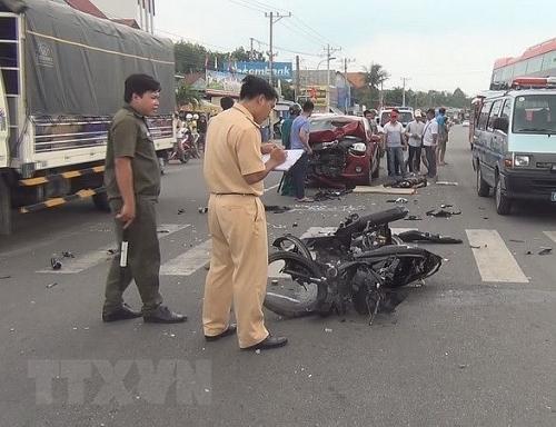 Tai nạn giao thông đã chuyển biến tích cực