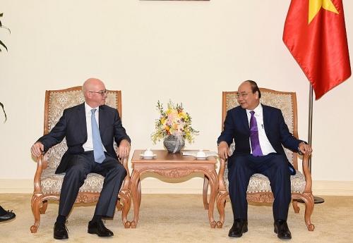 Thủ tướng tiếp Trưởng Đại diện Văn phòng Quỹ Tiền tệ Quốc tế tại Việt Nam