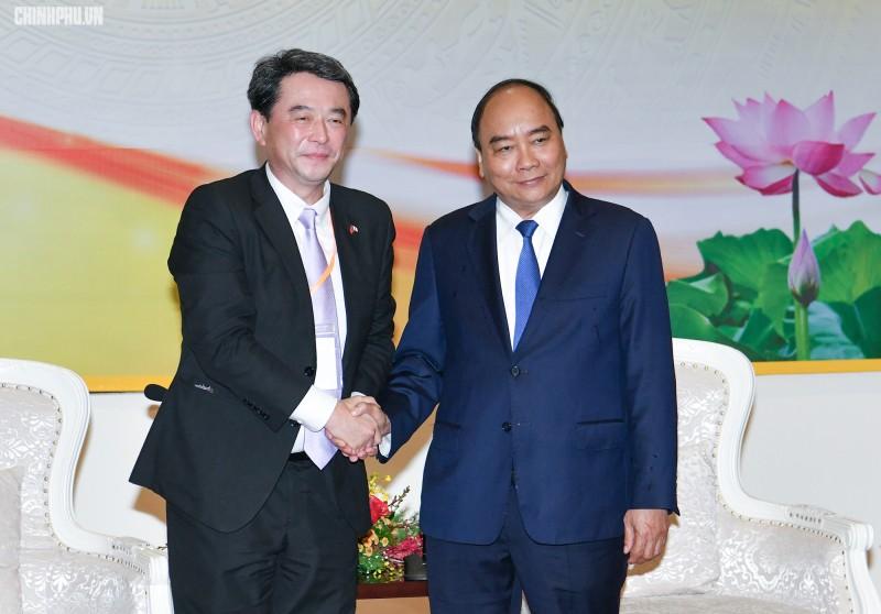 Thủ tướng tiếp Tổng giám đốc Mitsubishi Corporation
