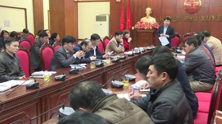 Huyện Phú Xuyên triển khai kế hoạch phòng, chống dịch bệnh