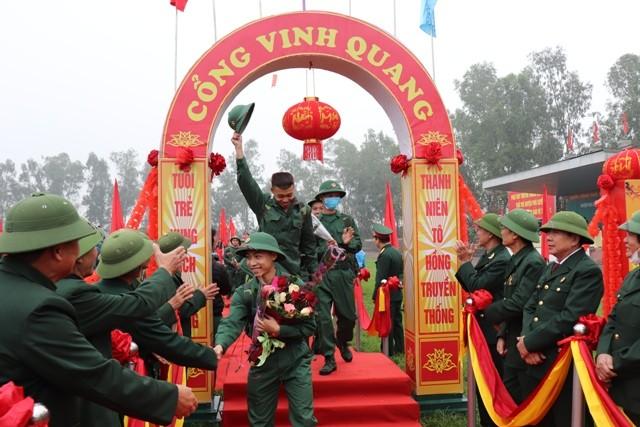 Phú Xuyên tưng bừng ngày hội tòng quân