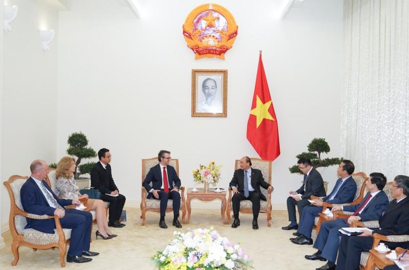 Thủ tướng tiếp Đại sứ, Trưởng phái đoàn Liên minh châu Âu tại Việt Nam