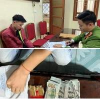 Bắt đối tượng trộm tiền trong két sắt tại chung cư