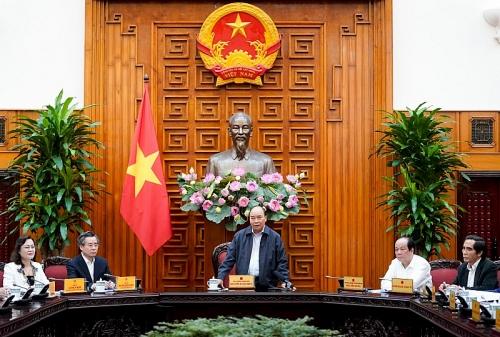 Thủ tướng làm việc với lãnh đạo tỉnh Bạc Liêu