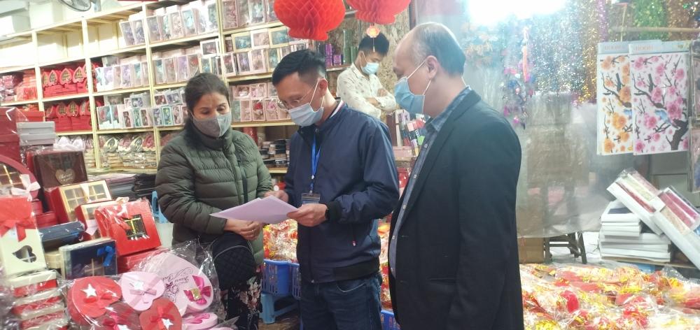 Quận Hoàn Kiếm: Đẩy mạnh công tác tuyên truyền phòng, chống dịch Covid-19
