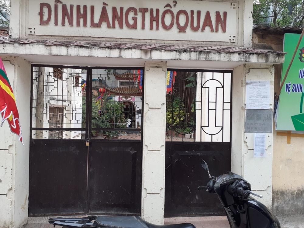 Hàng loạt di tích ở Hà Nội đóng cửa phòng, chống dịch Covid-19