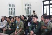 Tình người phía sau phiên tòa xử người cựu binh