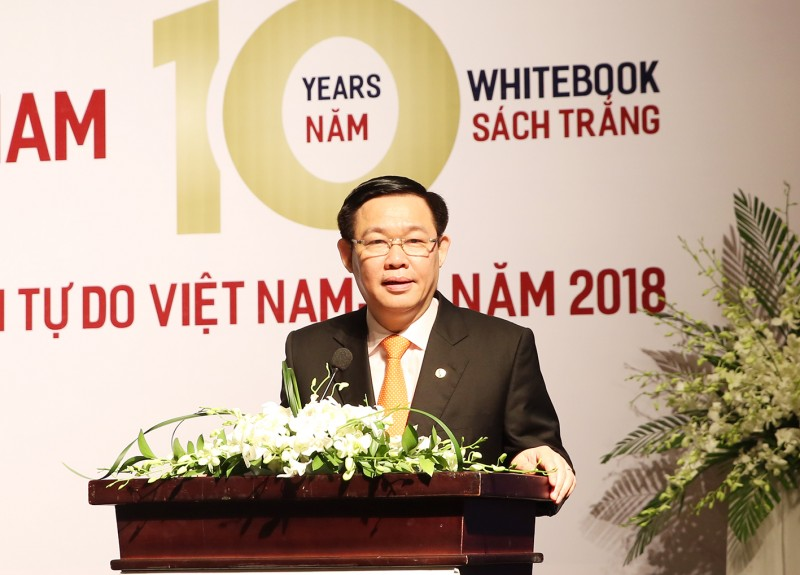 Phó Thủ tướng Vương Đình Huệ dự lễ ra mắt Sách trắng của EuroCham