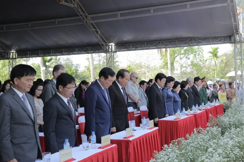 Lễ tưởng niệm 50 năm đồng bào Sơn Mỹ bị sát hại