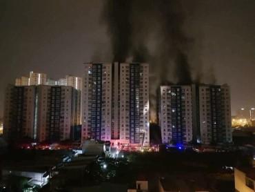 Thủ tướng chỉ đạo khắc phục hậu quả vụ cháy chung cư Carina, TPHCM