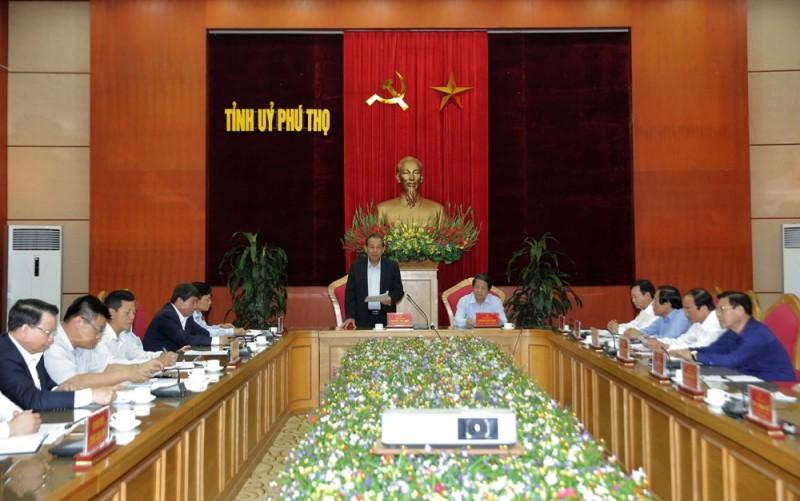 Công bố kết quả kiểm tra, giám sát công tác phòng chống tham nhũng tại Phú Thọ