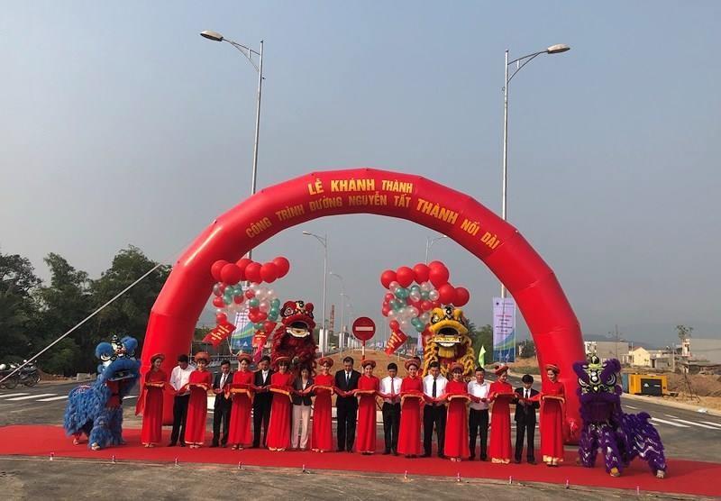 Đà Nẵng khánh thành đường Nguyễn Tất Thành nối dài
