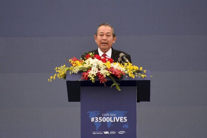 Phó Thủ tướng Thường trực phát động chiến dịch ATGT vì 3.500 sinh mạng