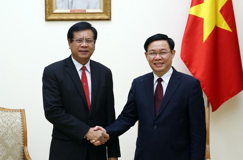 Quan hệ của Việt Nam-Lào ngày càng phát triển tốt đẹp