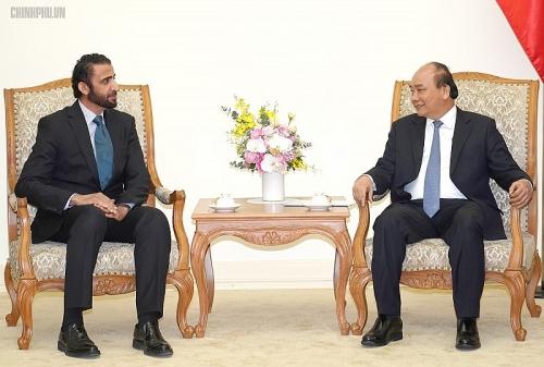 Thủ tướng tiếp Tổng Giám đốc Tập đoàn Đầu tư Dubai