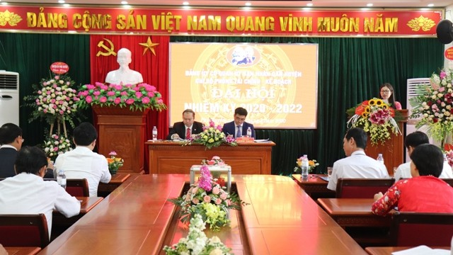 Đại hội Chi bộ Phòng Tài chính - Kế hoạch huyện Phú Xuyên nhiệm kỳ 2020-2022